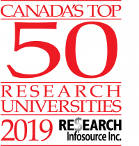 Canada's Top Research Universities 2019