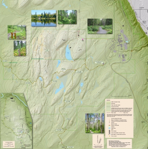 Cranbrook Hill trail map