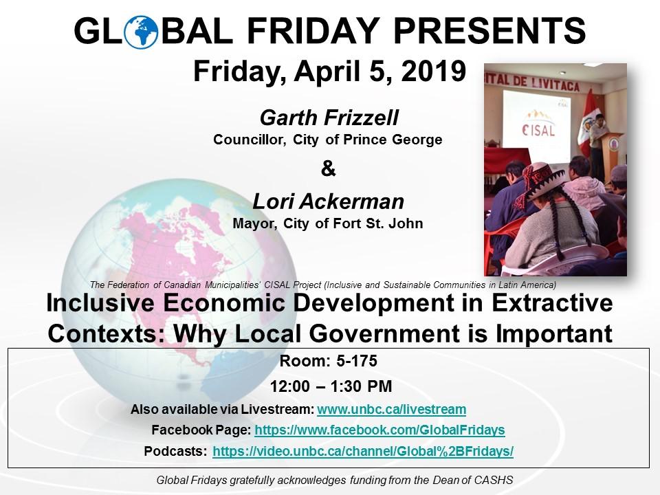 Global Friday Poster - April 5, 2019