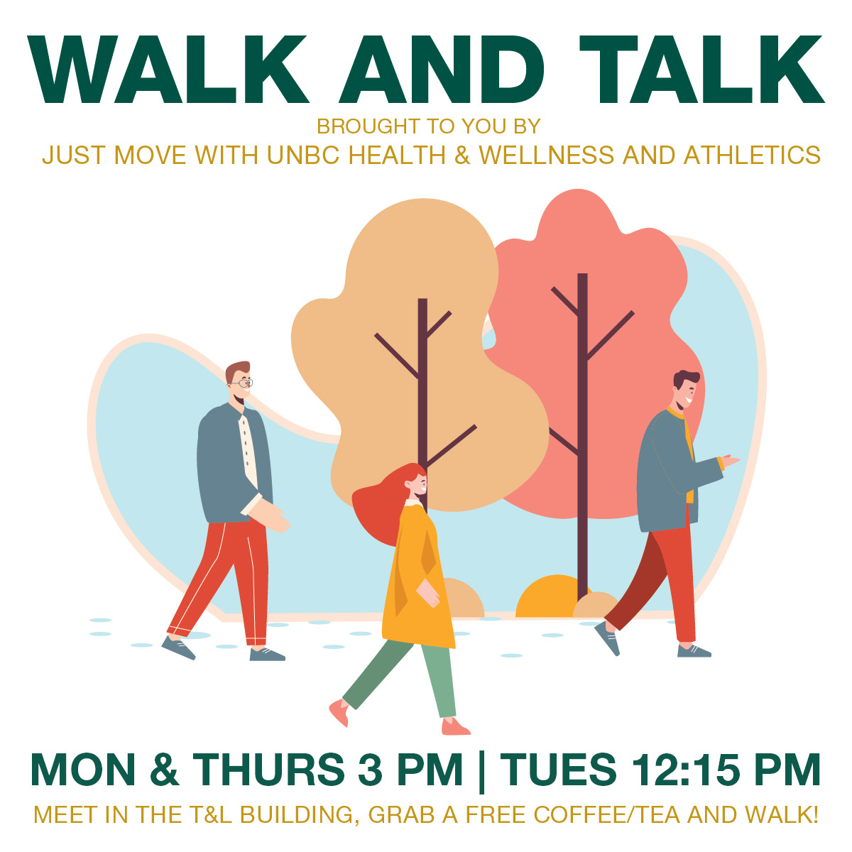 Walk and talk poster