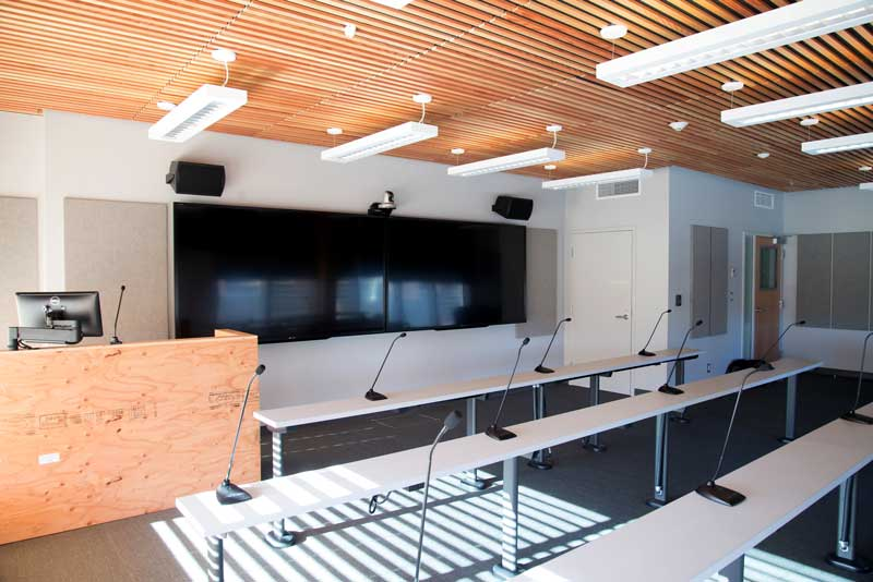Classroom in the Wood Innovation and Design Centre