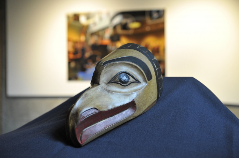 Mask carving by Ron Sebastian
