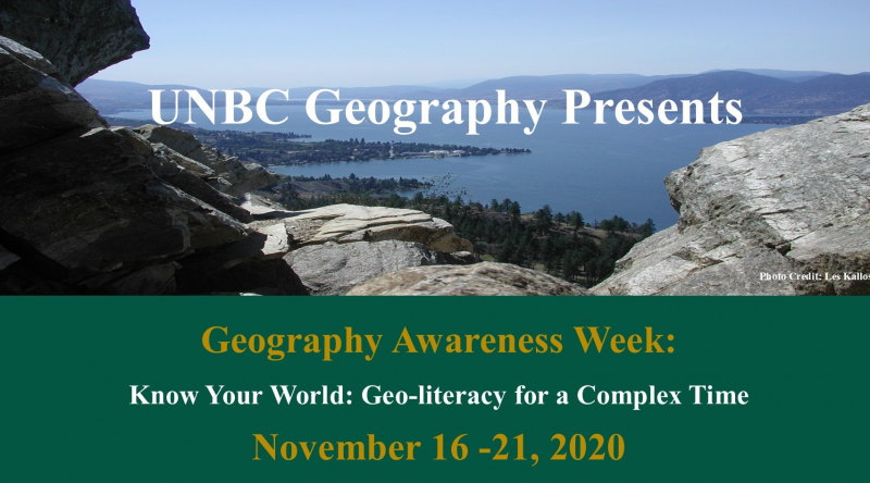 Geography Awareness Week 2020