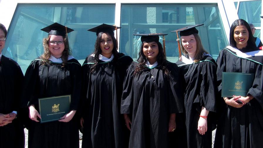 UNBC Political Science Graduates 2017