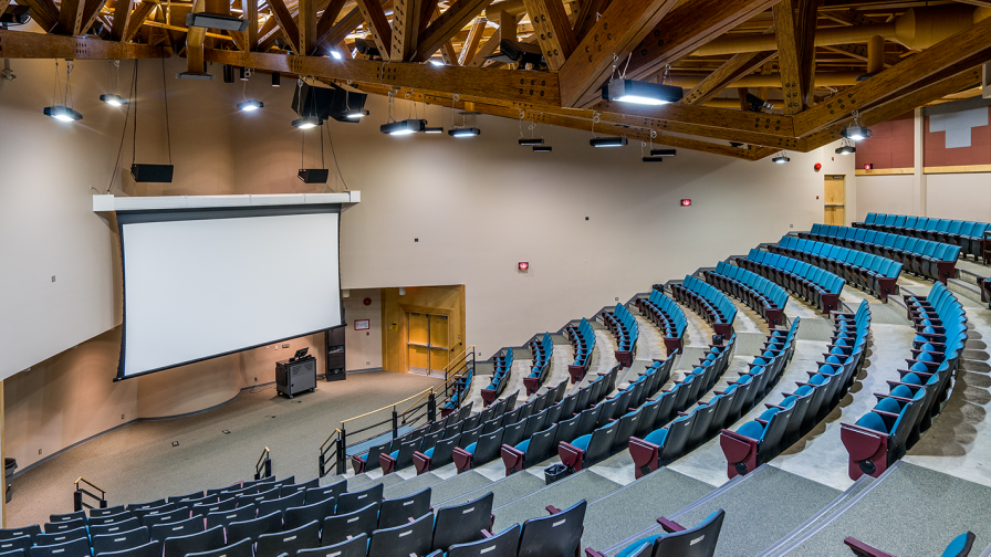 Lecture Hall at UNBC