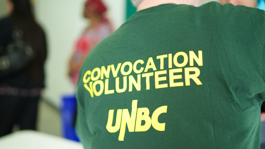 Volunteer for Convocation