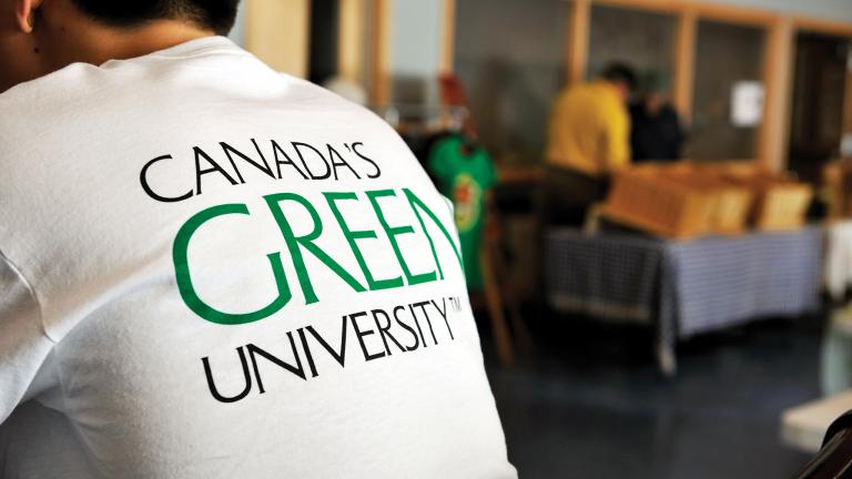 Canada's green university