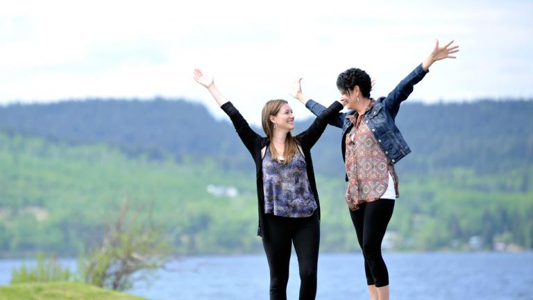 Kayla and Karen Harder