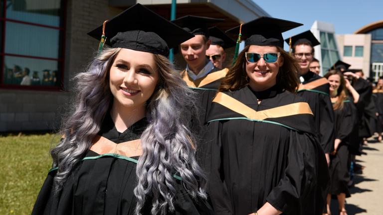Graduating Students from UNBC