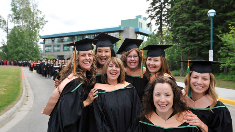 UNBC graduates