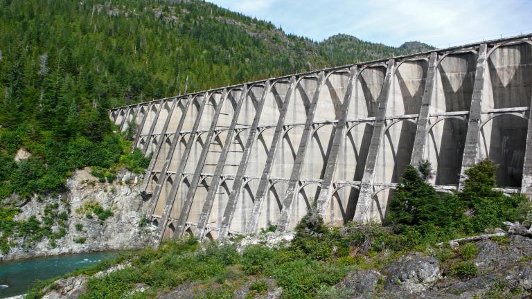 Anyox Dam