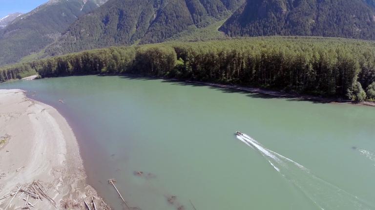 Skeena River by Jet Boat