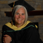 Saralee Andrews from Fort Nelson, BC, Bachelor of Social Work graduate