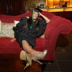 Erin Ferris from Fort St John, BC, Bachelor of Social Work graduate