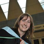 Sylvia O'Meara from Vanderhoof, BC, Bachelor of Education graduate.