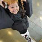 Jessica Stewart from Gingolx, BC, Bachelor of Education graduate.