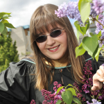 Sheena Larson from 108 Mile Ranch, BC, Bachelor of Science (Biology) graduate