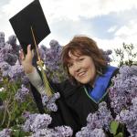 Lucinda Praught from Terrace, BC, MBA graduate.