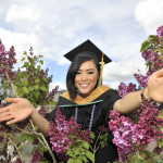 Susan Luong from Prince Rupert, BC, Biochemistry and Molecular Biology graduate and Valedictorian.