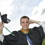 Eric Pawluk from Quesnel, BC, Bachelor of Science (Biology) graduate.