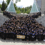 Group photo of College of Science and Management graduates.