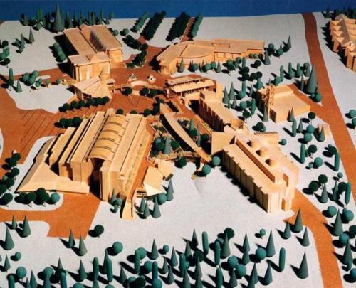 Model of the UNBC Campus