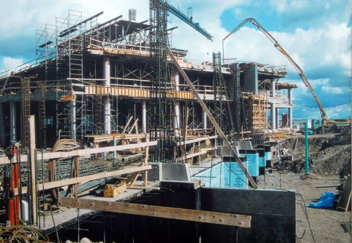 Construction of the Prince George campus