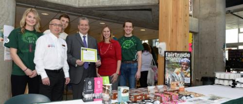 Celebrating UNBC's Fair Trade Campus designation