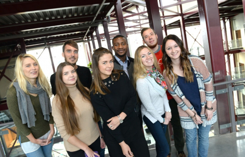 Students in the Masters program