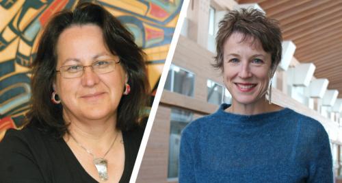 Researchers Dr. Margo Greenwood and Dr. Sarah de Leeuw