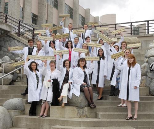 Northern Medical Program graduates