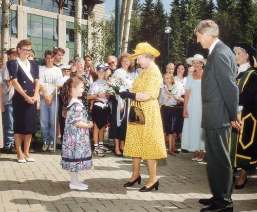 Her Majesty Queen Elizabeth II officially opens UNBC