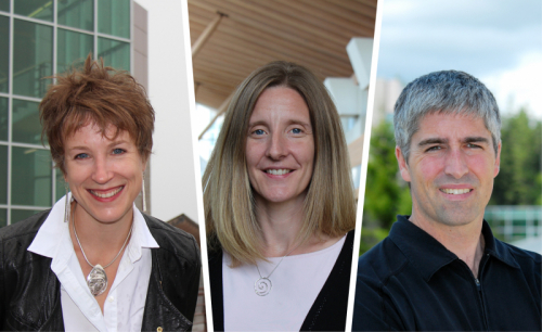 Drs. Sarah de Leeuw, Sarah Gray and Brian Menounos are all appointed or reappointed as Canada Research Chairs.