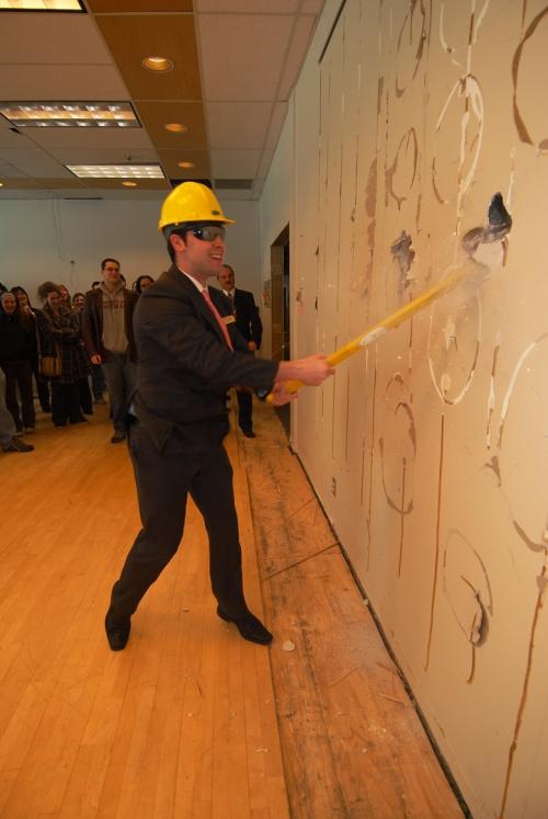 Student centre renovations