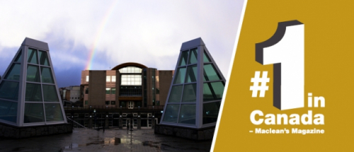 UNBC takes top spot in university rankings