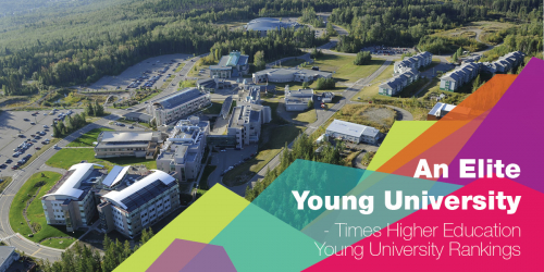 UNBC ranked among the world's top young universities.