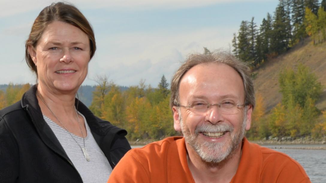 Dr. Ellen Petticrew and Dr. Phil Owens