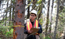 Gregory Daniels, forestry student