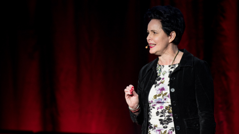 Dr. Lisa Dickson speaks at TedX UNBC in 2019