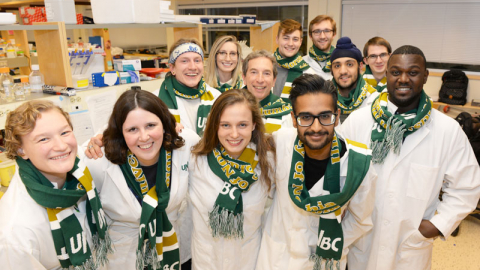 2016 iGem students from the Synthetic Biology Club