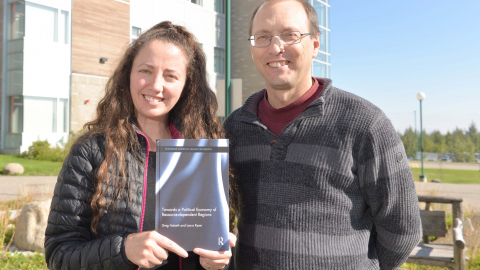 Laura Ryser and Dr. Greg Halseth