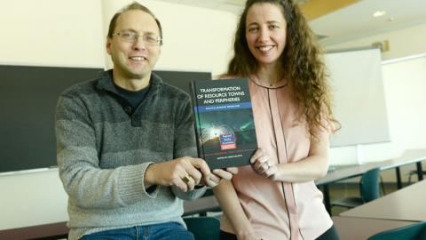 Dr. Greg Halseth and Laura Reyser