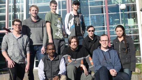 UNBC Computer Science ACM students
