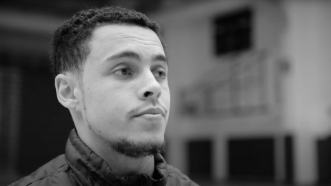 Men's basketball player Tyrell Laing talks about his Black Lives Matter exeriences