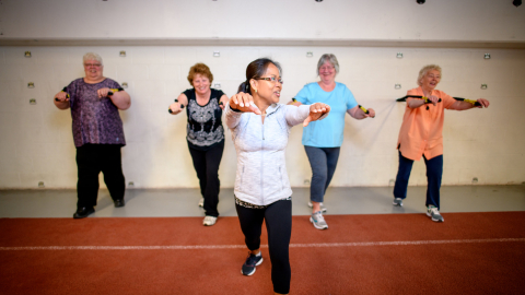 Northern Sport Centre Boomer Fit